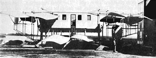Captain Arlington Batson's Flying House,1913:The Cosy Pioneer.