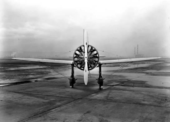 Boeing P-26 Peashooter: Peas against Zeros.