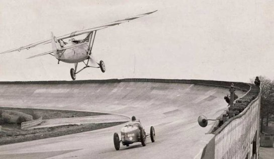 Dewoitine D.530 vs Bugatti T51: Plane vs Car...Nothing is really new lately.