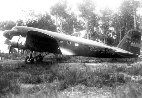 Douglas DC-1: Close to Heaven.