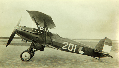 Fokker D.XVII: Demodé Beauty.