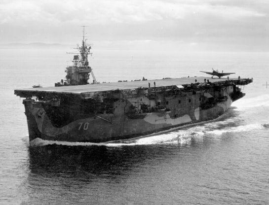HMS Ravager & Grumman Avenger: Big enough.