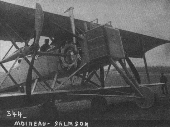 Salmson-Moineau SM.1: Sweet Intricancy
