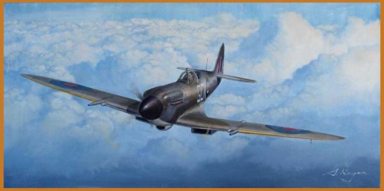 Supermarine Spitfire Mk.XIV: Over the Top.