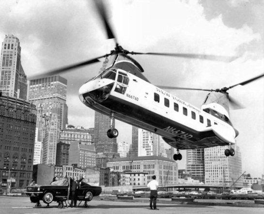 Boeing Vertol 107-II: The Groovy Sixties.