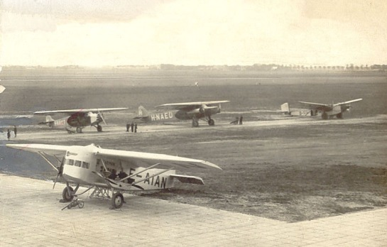 Late 20's/early 30's Schiphol Airport: When Civil Aviation was interesting...