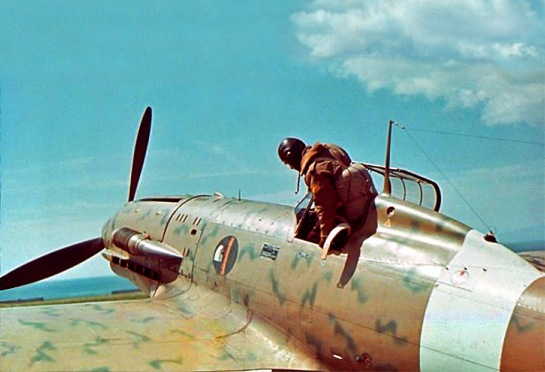 Macchi C.202 Folgore: Sunny Thunderbolt.