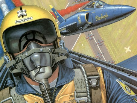 Grumman F11F-1 Tiger: Buck Danny,Aviator.