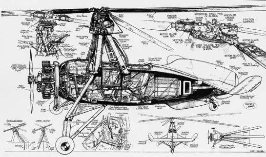 Cierva C.30A: The Grasshopper's Vivisection.