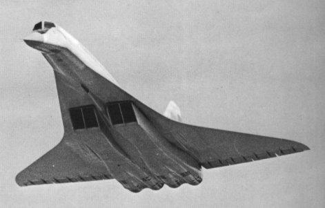 Tupolev Tu-144 Prototype: NOT Concordski