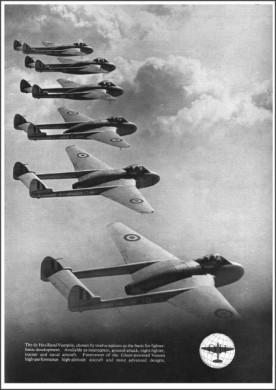 de Havilland Vampire F.3: No Crab.