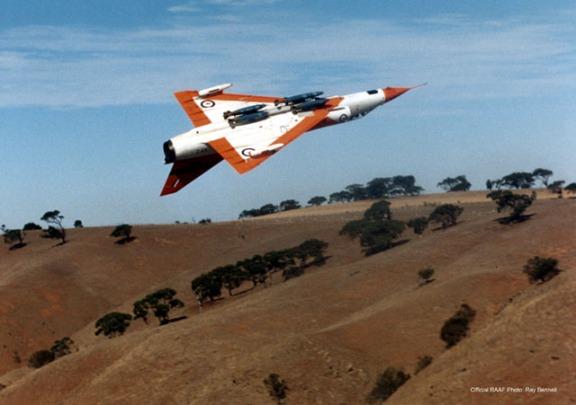 Dassault Mirage IIIE: Down....Down Under.