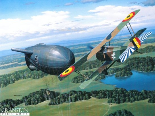Hanriot HD-1: Balloon Buster.