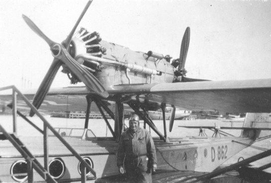Dornier J Wal: Two fatties....