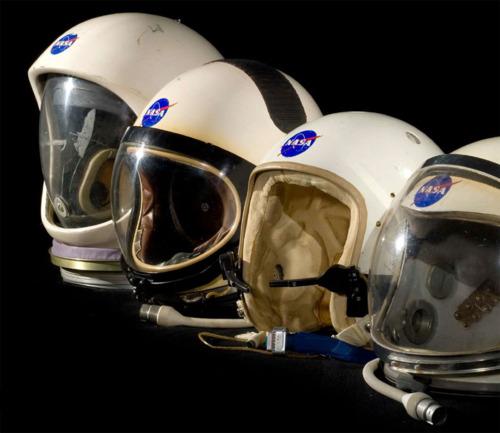 NASA Headgear: Feelin' like a kid.