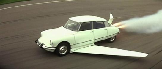 Fantômas' Flyin' Citroën DS: La Classe.