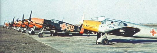 Messerschmitt Bf 108B & Bf 109E-7 (and maybe some -3): Rumanian Yellow