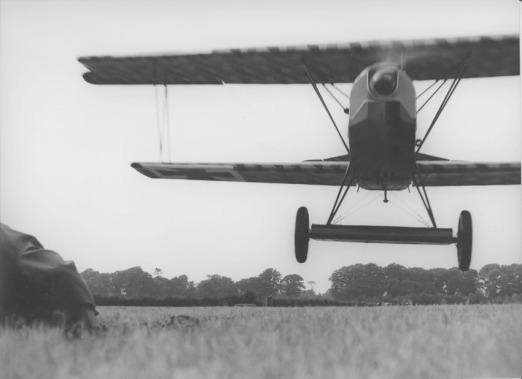 Fokker D.VII (Replica): No digital FX here.