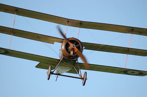 Sopwith Triplane (Replica): Tri's Double Success