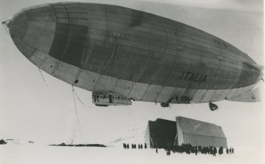 Airship N-4 Italia: Adventure on the Rocks.