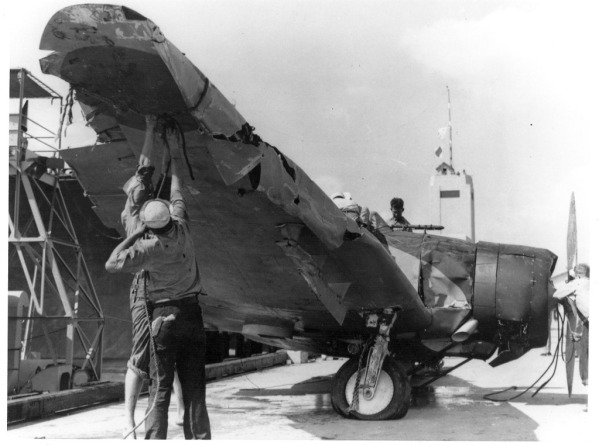 Aichi D3A1: Enemy at first sight.