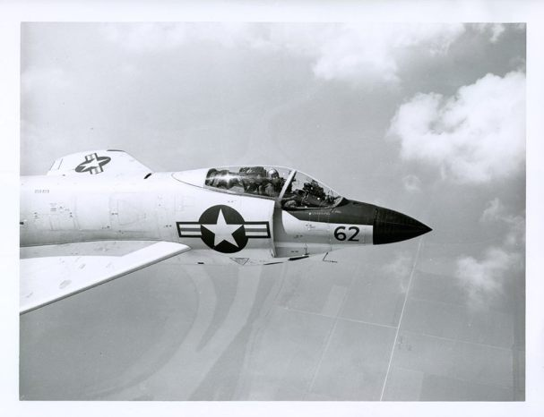 McDonnell F3H-2 Demon: Lead Sledge with a View.