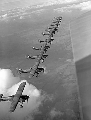 Hawker Fury Mk.1: The Fighting Cocks.