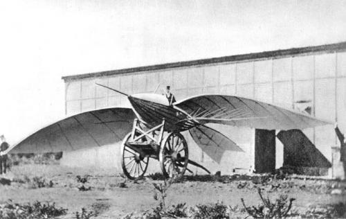 Le Bris' 2nd Glider: Le Canot Ailé.