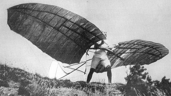 Otto Lilienthal 1st Monoplane: Der Vogelmann