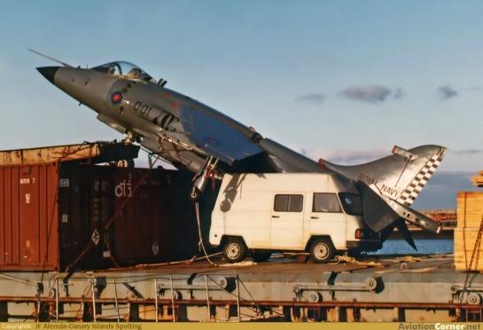 BAe Sea Harrier FRS.1: La Muerte de Risa Negra.