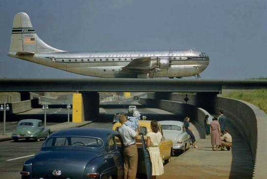 Boeing 377-10-26 Stratocruiser: Just Cruisin'.