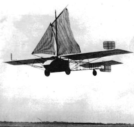 Domenjoz Glider: Not Plain Sailing.