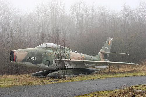 Republic F-84F Thunderstreak: Super Hog in the Mist.