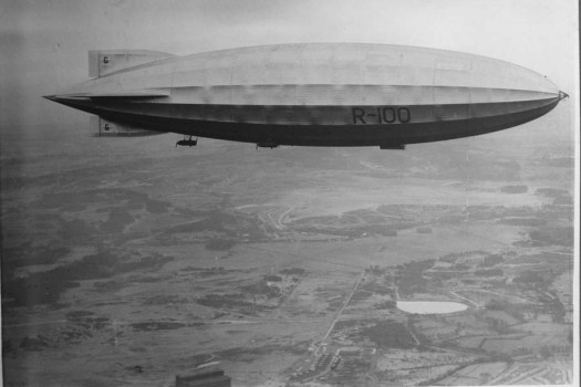 R100 Airship: The Lucky(?) Cousin (II).